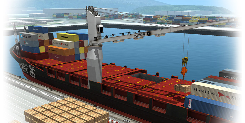 Simulation And Visualization For Offshore Operations