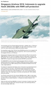 Singapore Airshow 2016_ Indonesia to upgrade Hawk 200_209s with RWR self-protection _ IHS Jane's 360-1